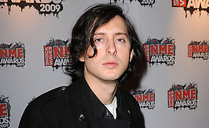 Carl Barat arriving for the Shockwaves NME Awards 2009 at the 02 Academy, Brixton, London