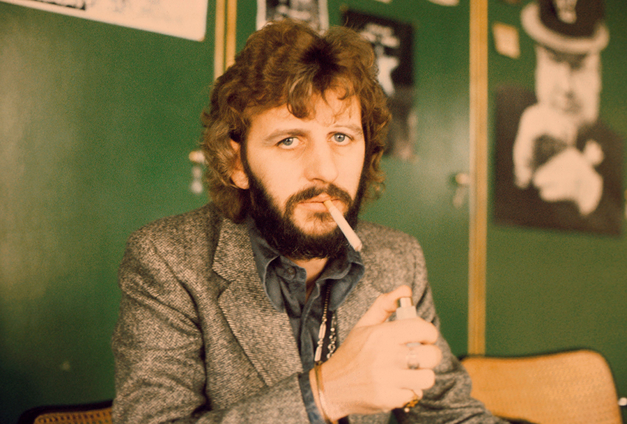 Ringo Starr, formerly of The Beatles, London, October 1973. (Photo by Michael Putland/Getty Images)