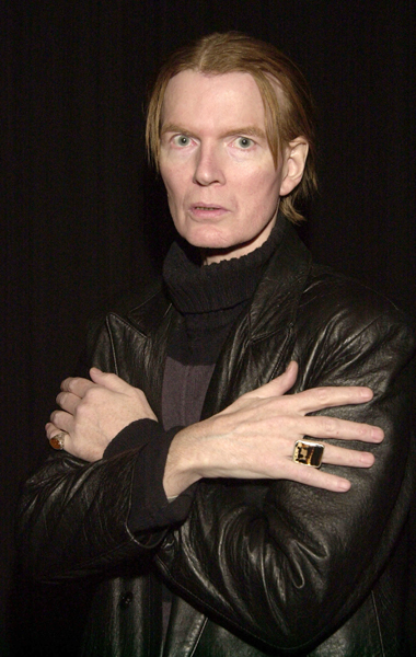 "401313 02: Jim Carroll, author of ""The Basketball Diaries"", before a reading from his new book of poems ""Void of Course: Poems 1994-1997"" and other works February 19, 2002 in Brooklyn, NY. (Photo by Andrew Serban/Getty Images)"