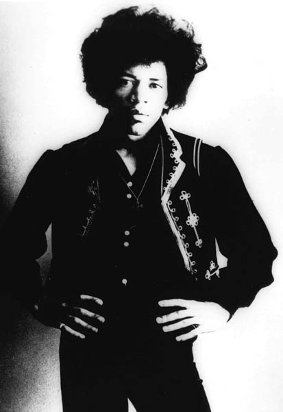 Jimi Hendrix is shown in an undated photo. (AP Photo)