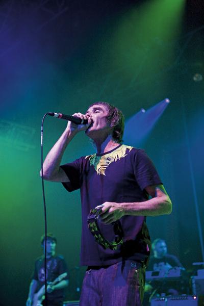 Ian Brown Plays the Madinat Arena, Dubai as a part of Dubai Sound City, 01.10.09