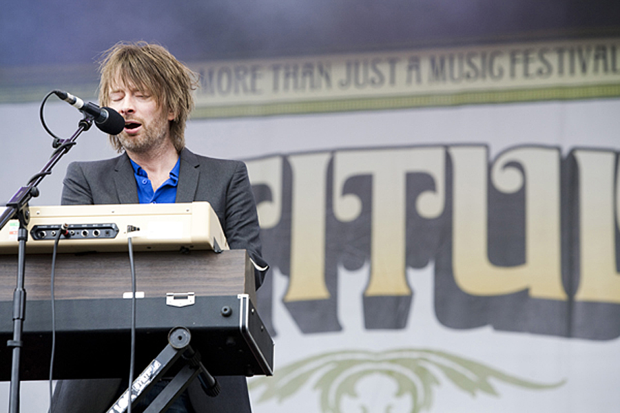 Thom Yorke Plays Latitude Festival 2009
