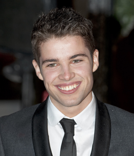 X Factor contestant Joe McElderry arrives at the 'A Christmas Carol' premiere in Leicester Square, London.