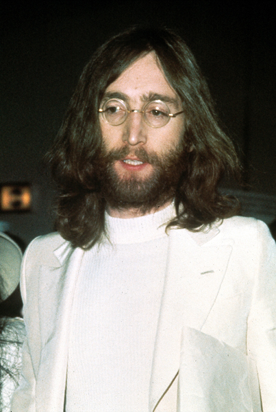 John Lennon of The Beatles is shown circa 1969 at an unknown location. (AP Photo)