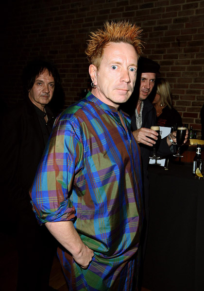 File photo dated 16/06/08 of John Lydon who is to re-form his influential band Public Image Ltd for the first time in 17 years.