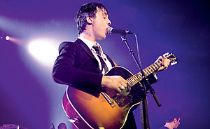 Peter Doherty @ The Barras in Glasgow