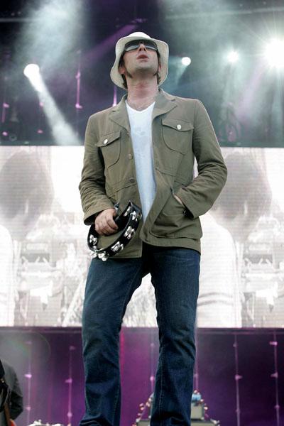 Oasis frontman Liam Gallagher performing live at Marlay Park, Dublin, Ireland. Mark Doyle/allactiondigital.com