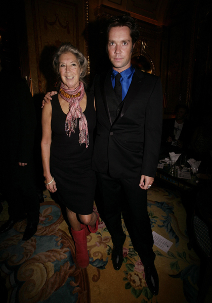 Previously unreleased photo dated 21/09/2009 of Rufus Wainwright and his mother, Canadian folk singer Kate McGarrigle, during the album playback party for Dame Shirley Bassey's album 'The Performance', at The Ritz hotel in central London. McGarrigle has died of cancer aged 63 at her home in Montreal last night.