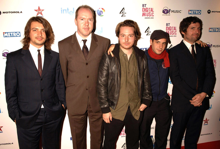 The Turin Brakes arrive at the Digital Music Awards 2005, held at Hammersmith Palais, central London, Tuesday 18 October 2005. PRESS ASSOCIATION Photo. Photo credit should read: Yui Mok/PA