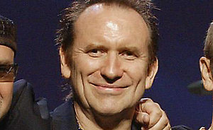 Colin Hay, the frontman for the 1980's Australian band Men at Work, is seen in Orillia, Ontario, Canada, in this July 23, 2003, photo. (AP Photo/CP, Frank Gunn,)