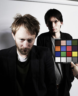 radiohead for nme magazine shot thursday 22 11 07 in oxfords the old parsonage hotel.