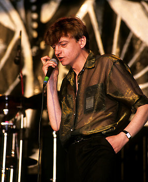 Mark E. Smith of The Fall.