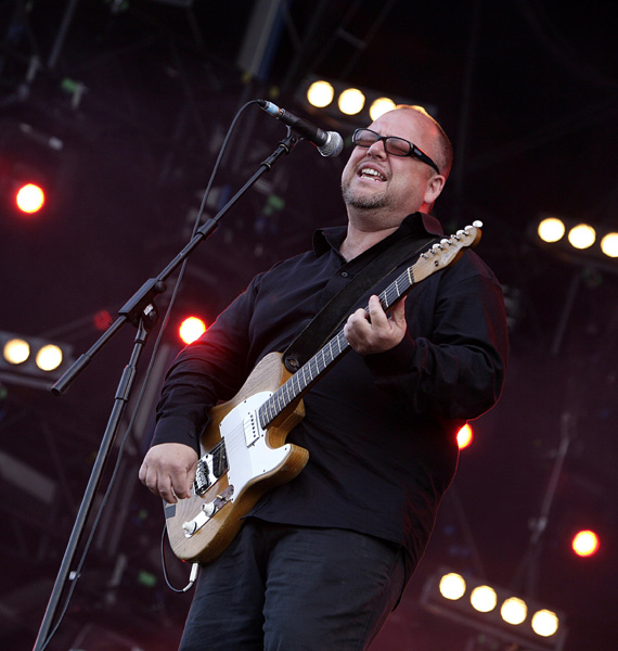 Black Francis of The Pixies performing during the Isle of Wight festival, in Newport on the Isle of Wight. ** EDITORIAL USE ONLY **