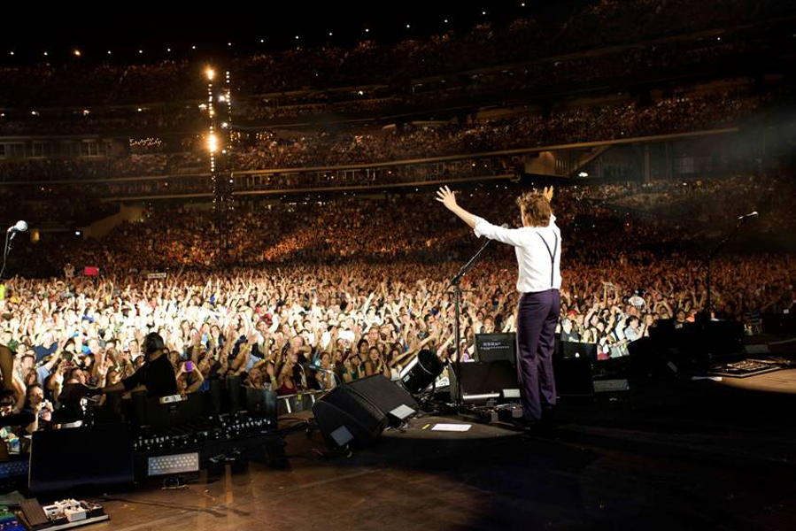 Paul McCartney to release New York Citi Field live CD/DVD ...