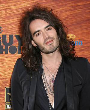 Russell Brand arrives for Spike TV's 2nd Annual Guys Choice Awards held at Sony Studios, Culver City.