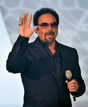 Tom Jones performs during Germany's famous entertainment show 'Wetten, dass..?' (Wanna Bet..?)