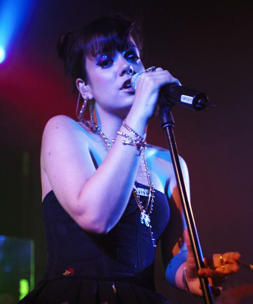 Lily Allen, Live at the Bush Hall, Shepherds Bush, London 18/07/