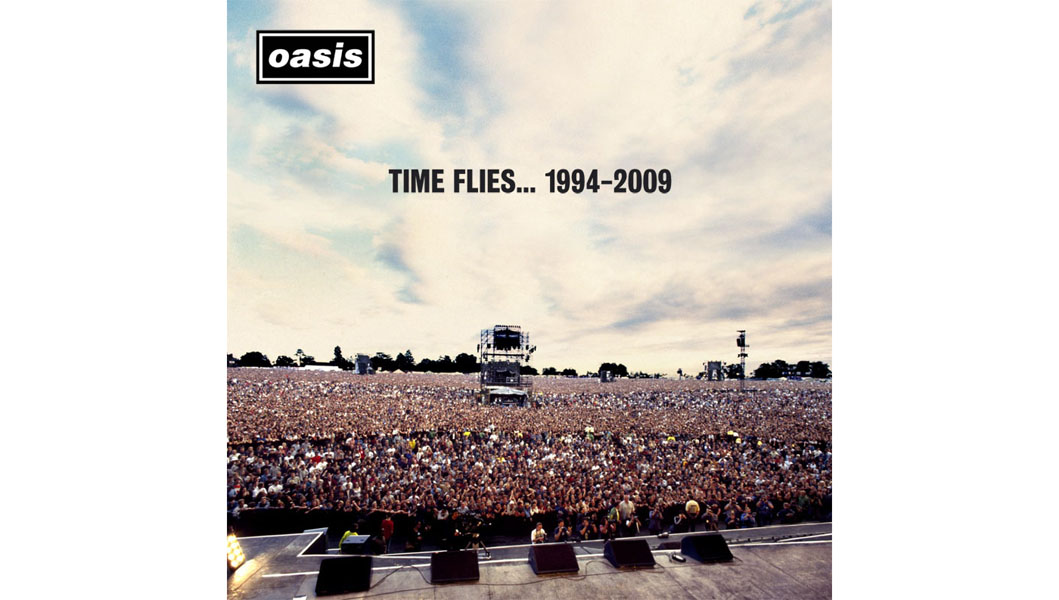 Oasis Reveal Time Flies Singles Collection Cover Art Nme