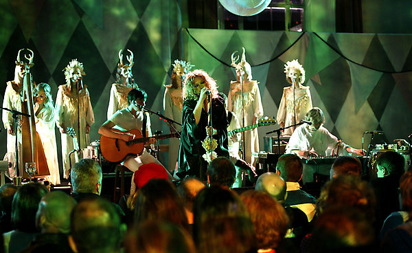 Picture shows: GOLDFRAPP AT CECIL SHARP HOUSE FOR THE 2008 BBC ELECTRIC PROMS