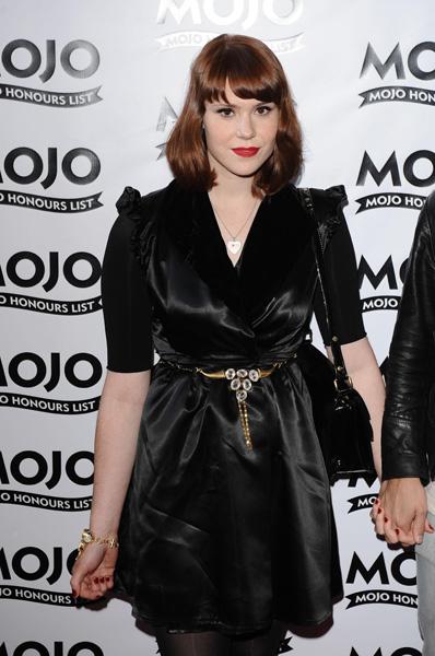 Kate Nash arrives at the MOJO Awards at the Brewery in London.
