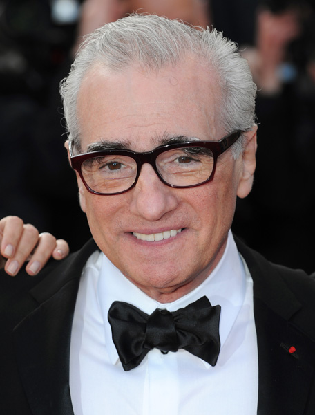 Martin Scorsese arriving for the screening of Wall Street: Money Never Sleeps, part of the 63rd Cannes Film Festival at the Palais de Festivals in Cannes, France.