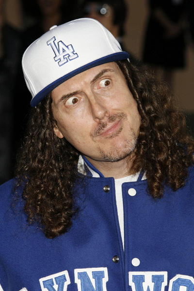 Weird Al Yankovic at the 34th Annual American Music Awards, Los Angeles, CA, November 21, 2006.