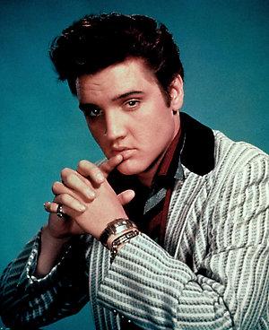 Elvis Presley. Circa 1960