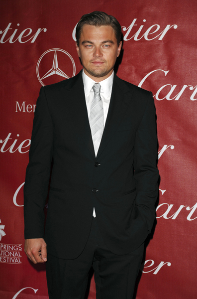 Leonardo Di Caprio arrives at The 20th Annual Palm Springs International Film Festival Awards, Palm Springs Convention Center, Palm Springs, California.