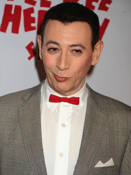 "Paul Reubens attends the opening night of ""The Pee Wee Herman Show"", held at Club Nokia in Los Angeles, California, on Wednesday, January 20, 2010.(AP Photo/Jennifer Graylock)"