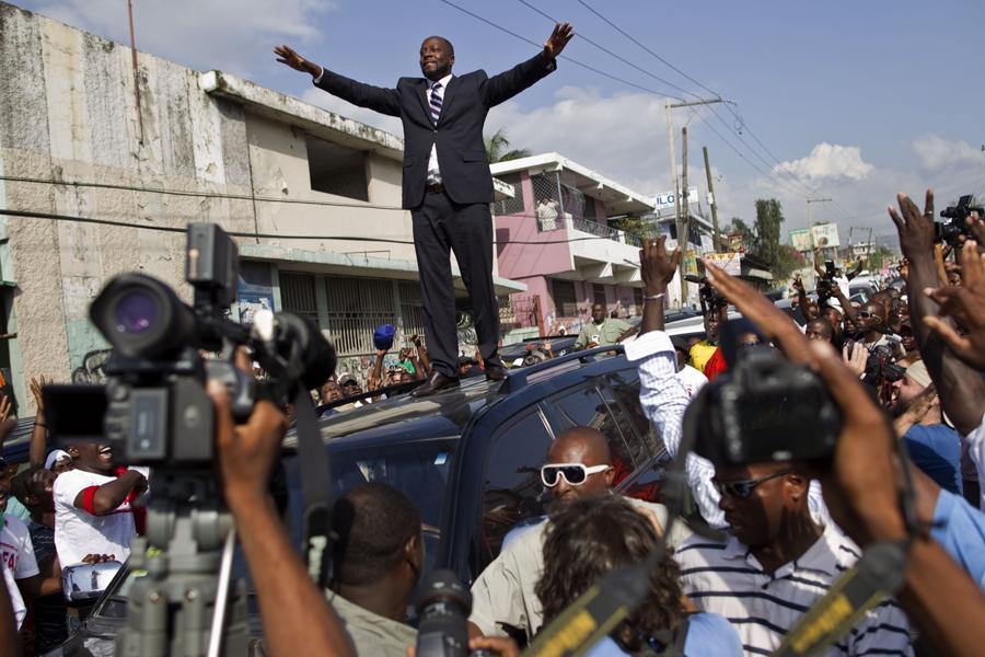 Haiti Elections Jean