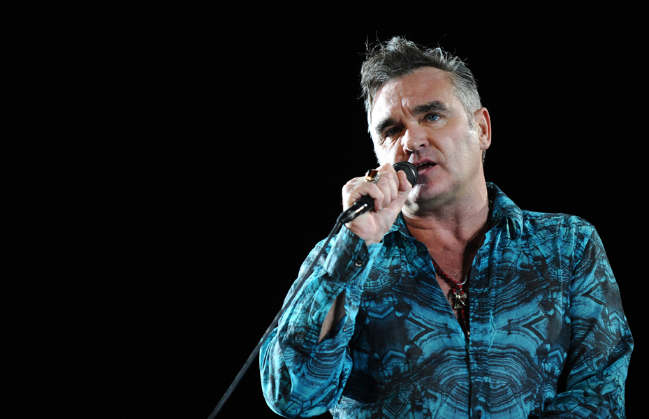 Morrissey performs at the 2009 Coachella Valley Music & Arts Festival. Indio, USA