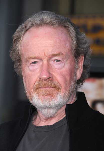 Ridley Scott at the 'The A-Team' premiere, held at the Grauman's Chinese Theatre, Los Angeles.