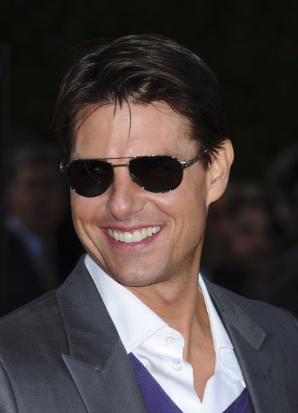 """Tom Cruise at the """"Tropic Thunder"""" Los Angeles Premiere held at the Mann Village Theatre in Westwood, CA."""