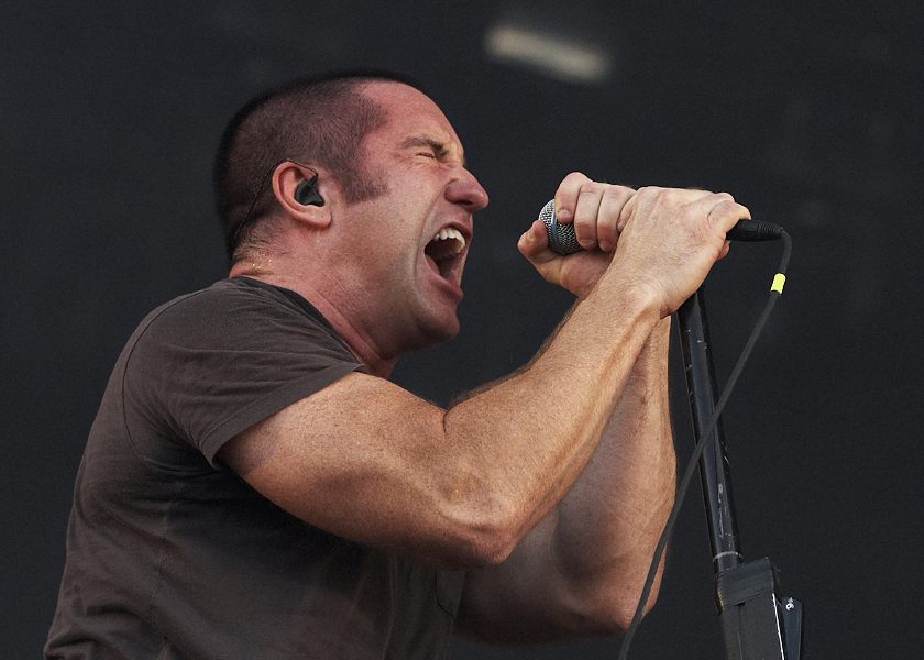 Trent reznor shaved head