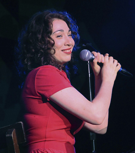 Regina Spektor performs during a True Colors event, Saturday, May 31, 2008 in Boston. (AP Photo/Lisa Poole)