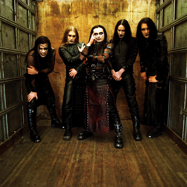 British goth-metal band Cradle of Filth. Allentown Morning Call/MCT /Landov