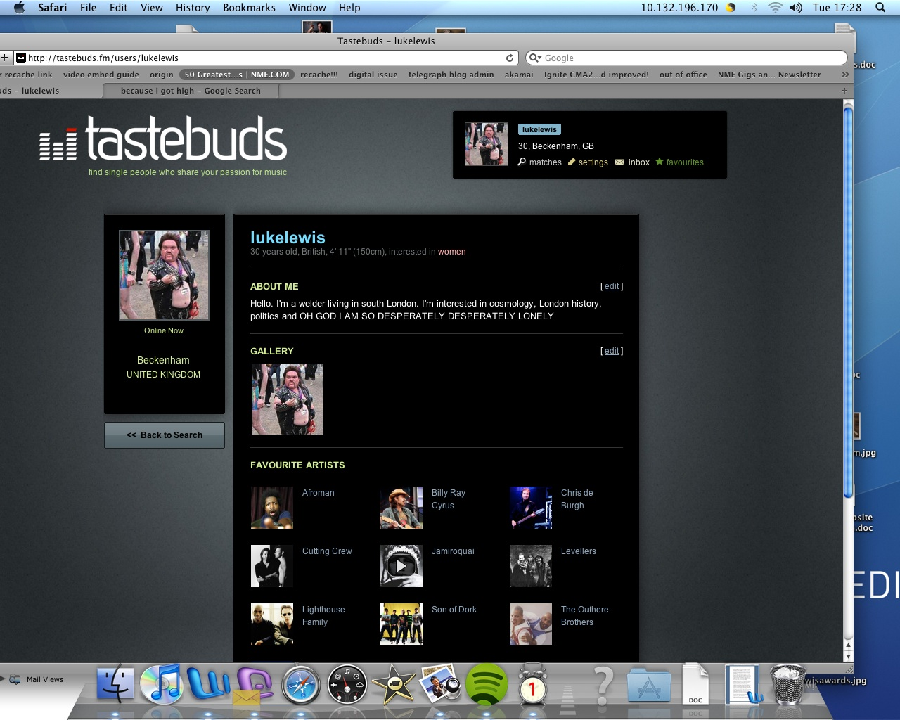 Tastebuds.fm dating sites messaging