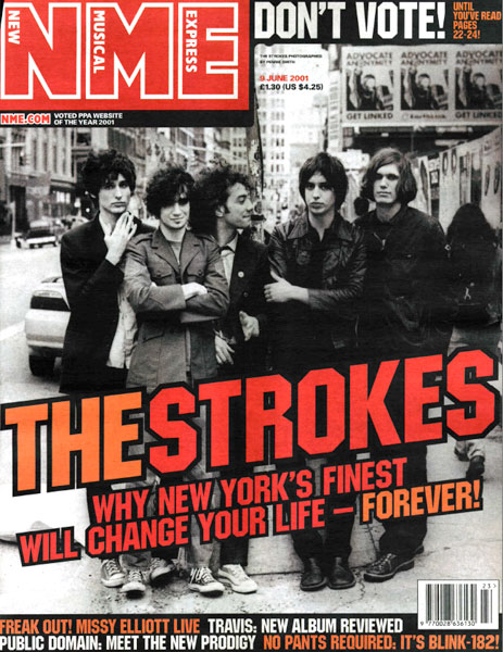 The Strokes Their Career In Nme Covers Nme