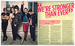 The Strokes feature