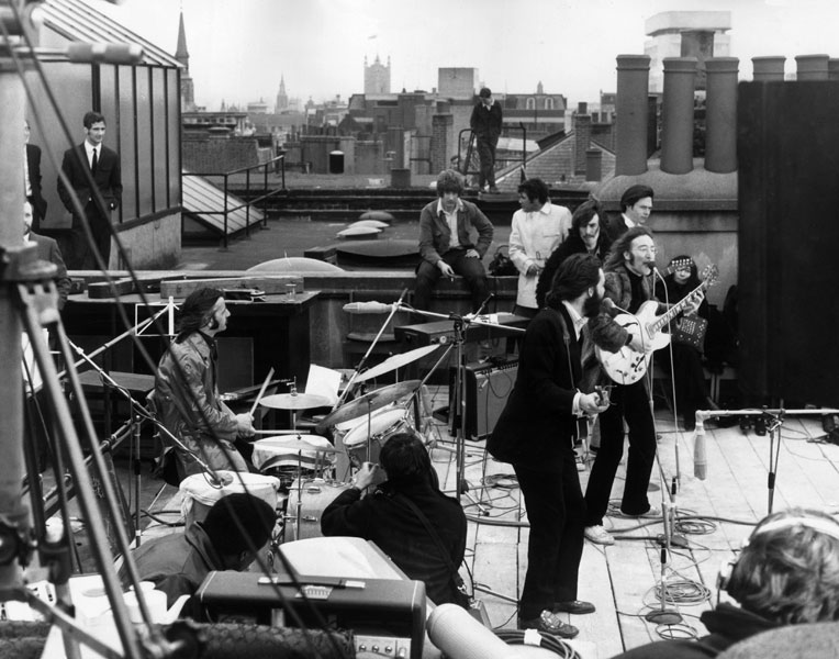 Pyramids, pantyhose and cool cops: the story behind The Beatles' final gig on the Apple rooftop