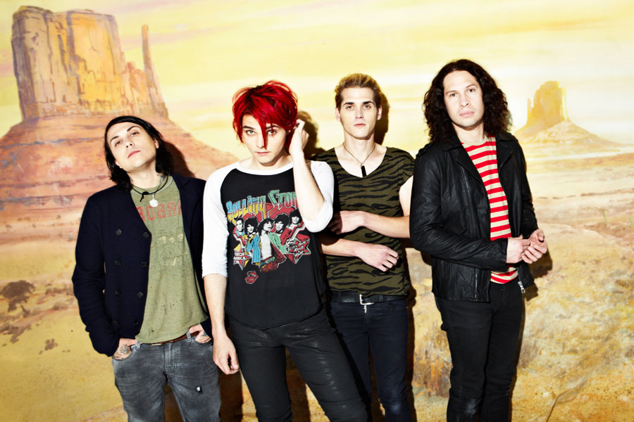 Gerard Way Danger Days Photoshoot
