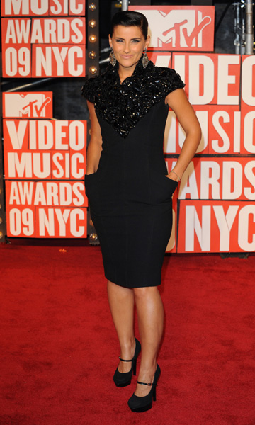 Nelly Furtado arrives at the MTV Video Music Awards 2009, New York