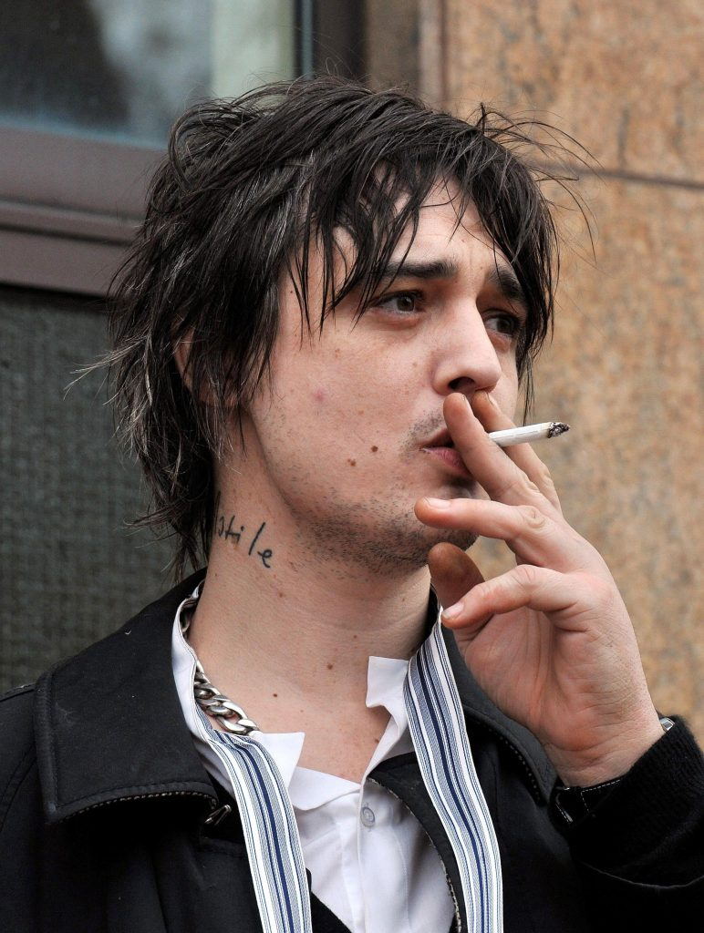 File photo dated 02/02/2001 of Pete Doherty, who was warned he could face jail again after he pleaded guilty to possession of cocaine.