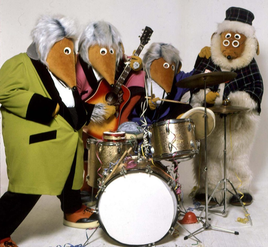 File photo dated 10/11/1997 of the nation's favourite eco-warriors, The Wombles who are set to recycle their careers as they perform together for the first time in years at Glastonbury Festival.