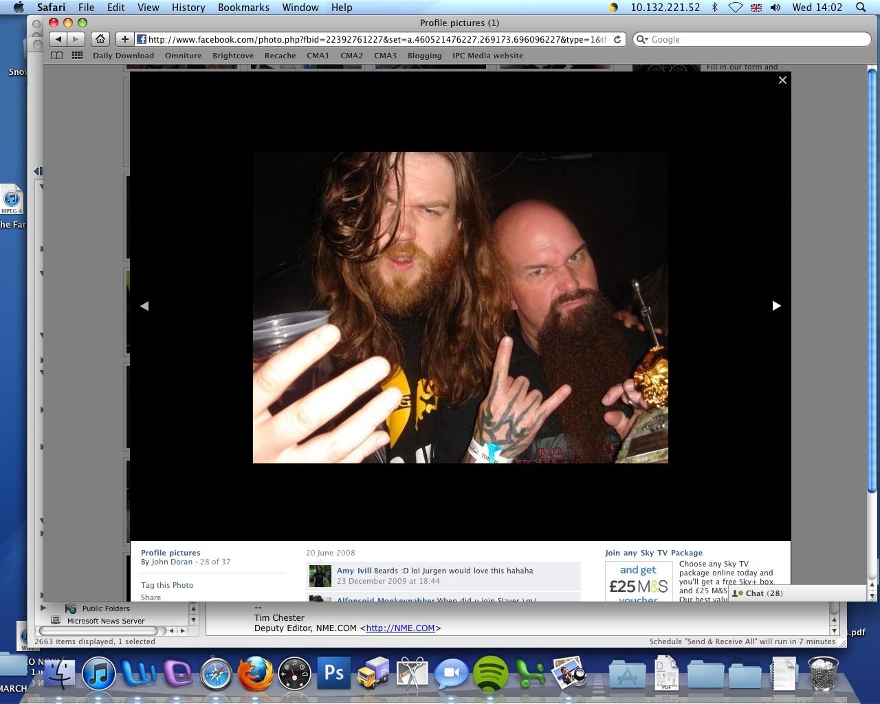 John Doran and Slayer