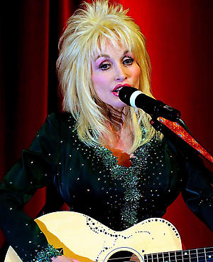 Country superstar Dolly Parton performs at the launch of Imagination Library, her children's literacy scheme at the Magna Science Adventure Centre in Rotherham, South Yorkshire.