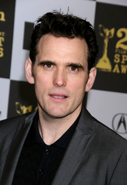 Matt Dillon arrives at the 25th Film Independent Spirit Awards held at Nokia Theatre L.A. Live on March 5, 2010 in Los Angeles, Ca (AP Photo / Tammie Arroyo)