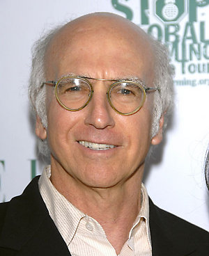 Larry David attends ELLE Magazine's Green Event held at Boulevard3 in Hollywood.