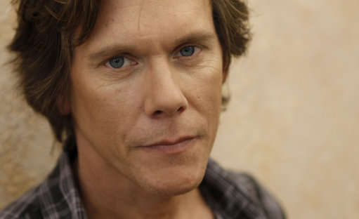 "Actor Kevin Bacon poses for a portrait in Santa Monica, Calif. on Thursday, July 16, 2009. Bacon was nominated for an Emmy award for outstanding lead actor in a miniseries or a movie for his role in ""Taking Chance"". (AP Photo/Matt Sayles)"