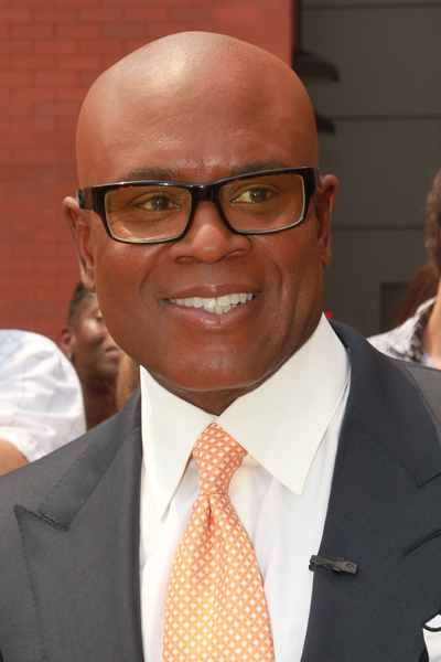 LA Reid arrives at 'The X Factor' auditions at the Prudential Center in Newark, NJ, USA.